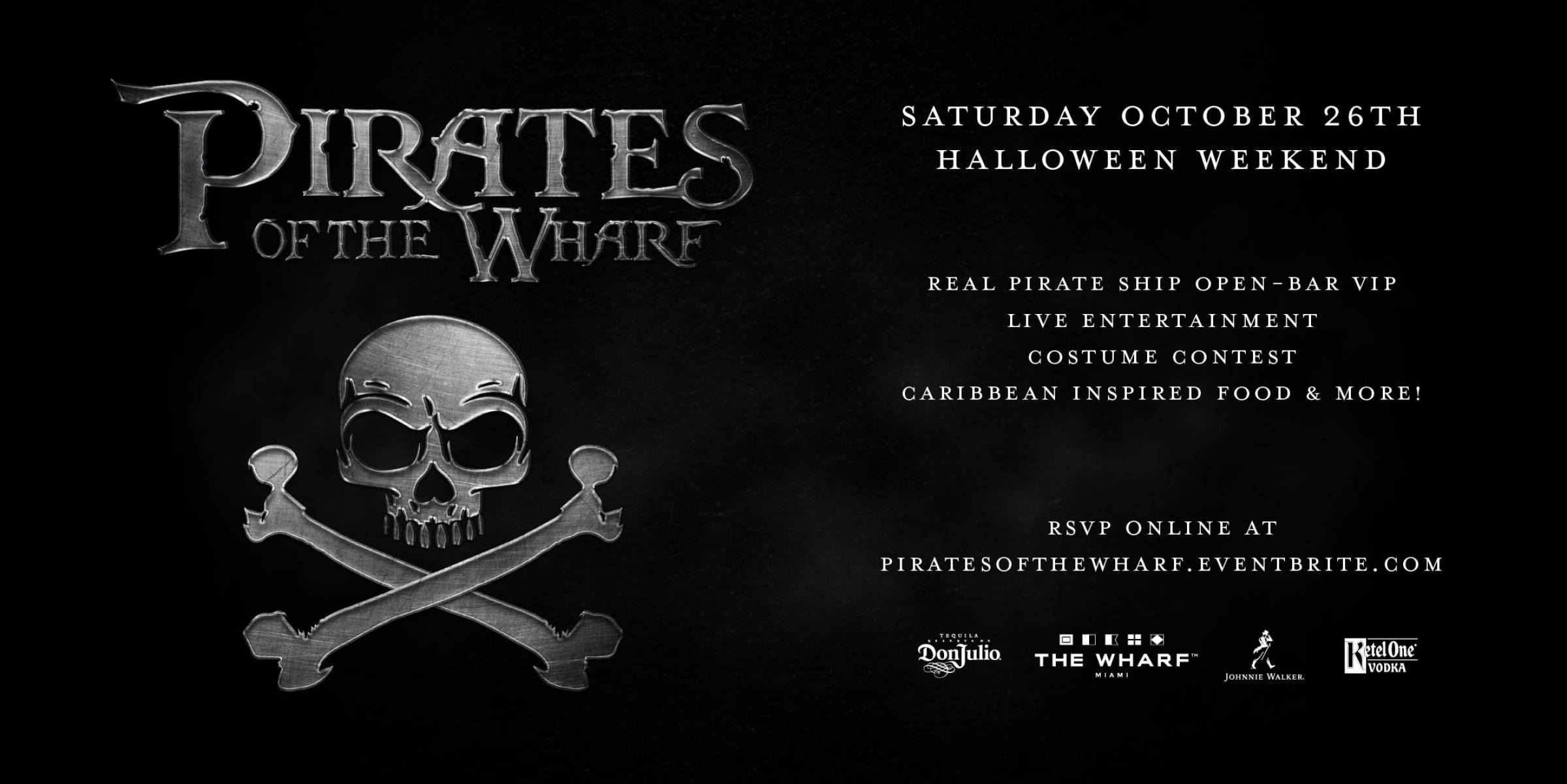 Pirates of the Wharf Party - Halloween 2019