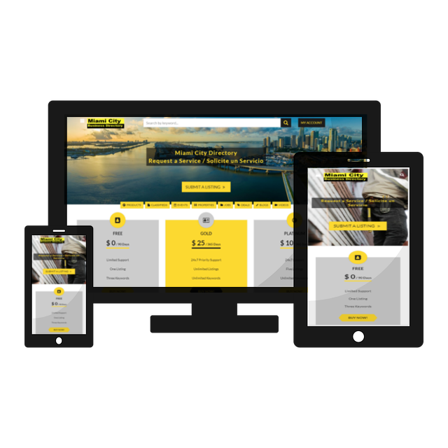 Miami City Directory Mobile Application